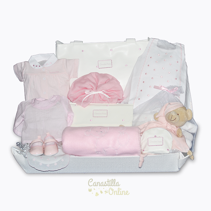 Cestas De Bebe Nina.Canastilla Online Cestas De Regalo Para Bebes